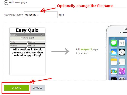 How to Add MS Excel Questions to a Mobile App Using The Easy